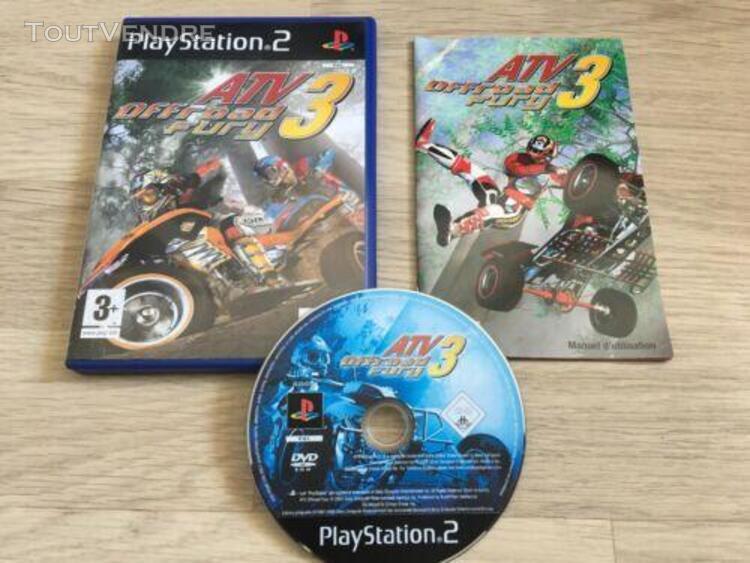 atv offroad fury 3 - jeu playstation 2 ps2 - complet avec no