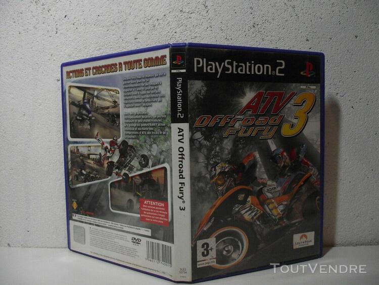 atv offroad fury 3 - ps2 playstation 2 - pal fr