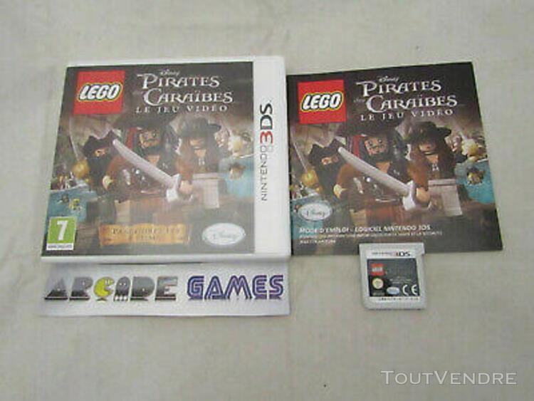 disney pirates des caraibes nintendo 2ds 3ds (vendeur pro)