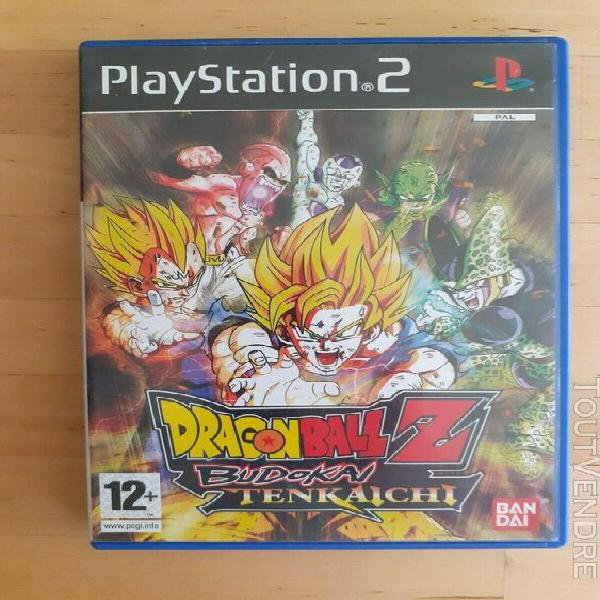 dragon ball z budokai tenkaichi ps2 jeu pal fr playstation 2