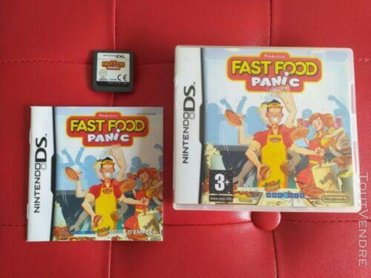 fast food panic complet nintendo ds 2ds 3ds