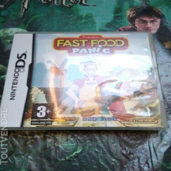 fast food panic pour nintendo ds