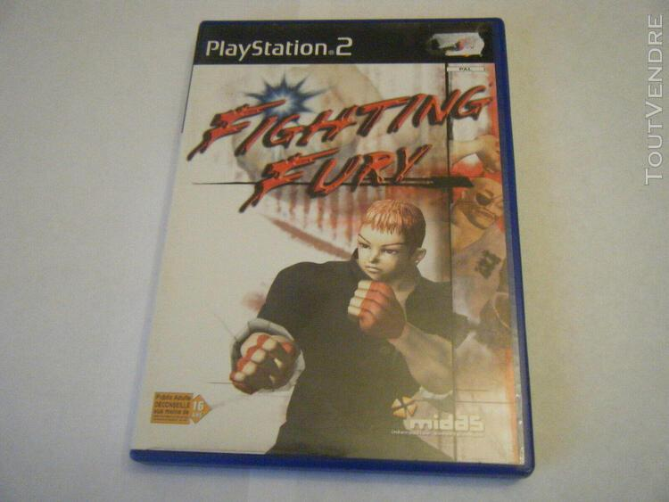 fighting fury - sony playstation 2 - ps2 - complet - occasio