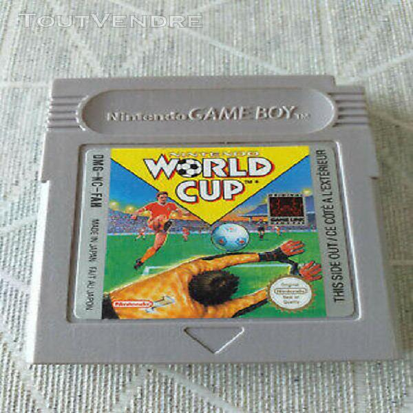 game boy gameboy classic fat - nintendo world cup - fah