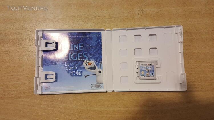 jeu 3ds reine des neige