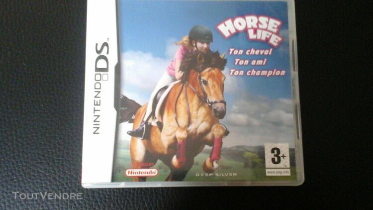jeu horse life nintendo ds cadeau noel