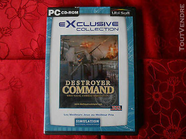 jeu pc cd rom../ destroyer command