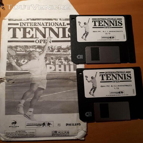 jeu pc international tennis open 1995 infogrames Éditions