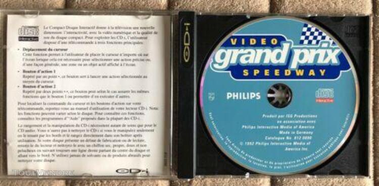 jeu vidéo grand prix speedway cd-i philips