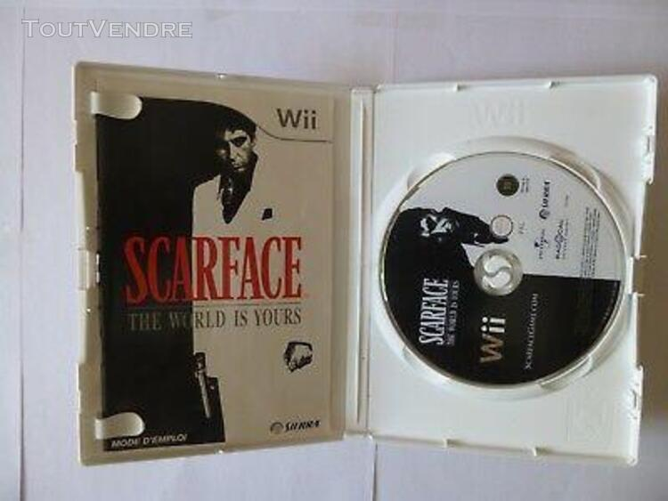 jeu wii scarface: the world is yours
