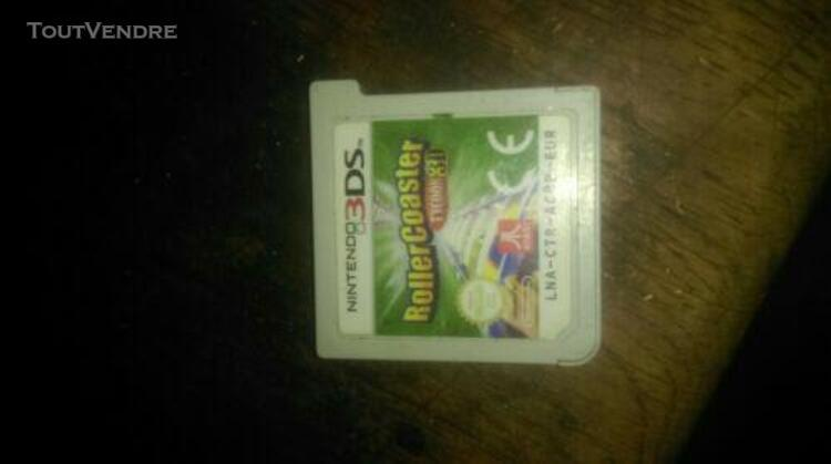 jeux ds 3d' roller coaster