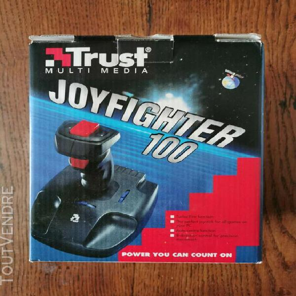 joyfighter 100 trust ! joystick retro vintage pour pc