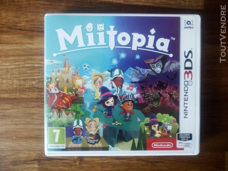 miitopia 3ds jeu nintendo - excellent État