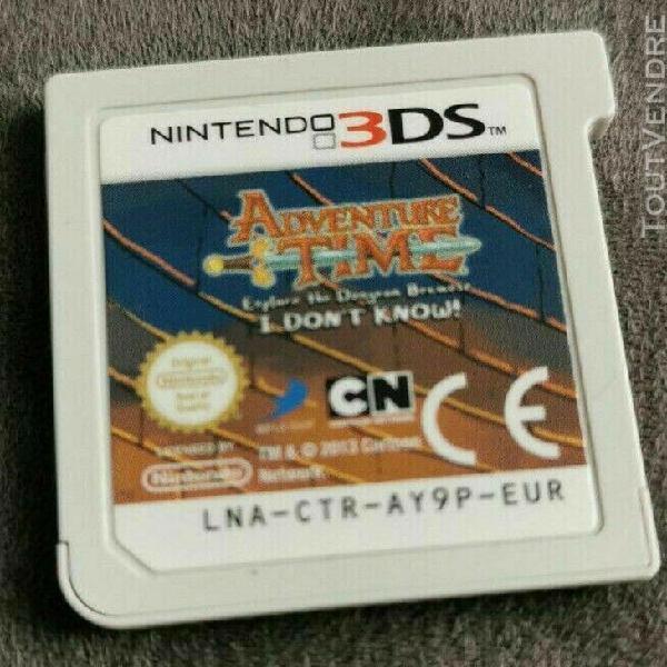 nintendo 3ds adventure time explore le donjon et pose pas de