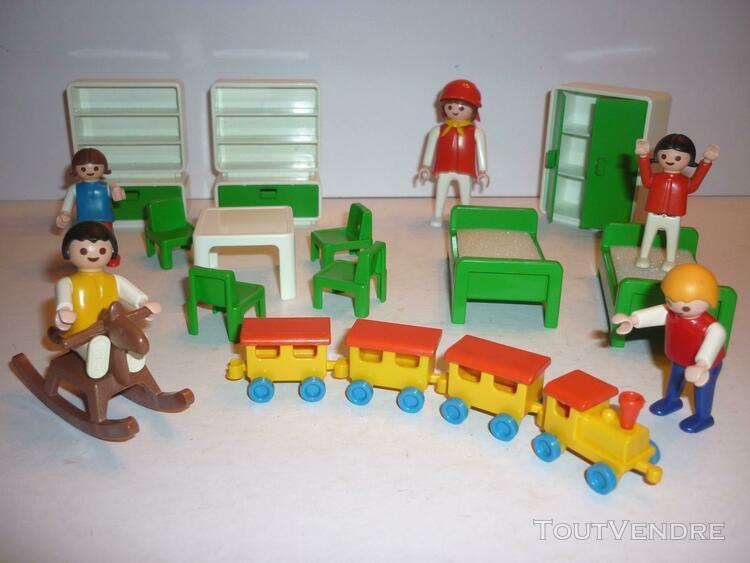 Playmobil: chambre d'enfants complète (1981) 3417-a