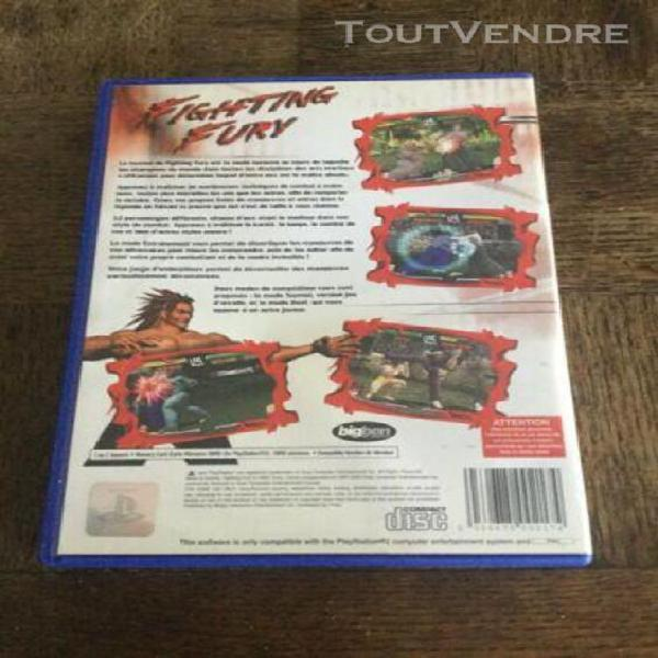 playstation 2 fighting fury ps2