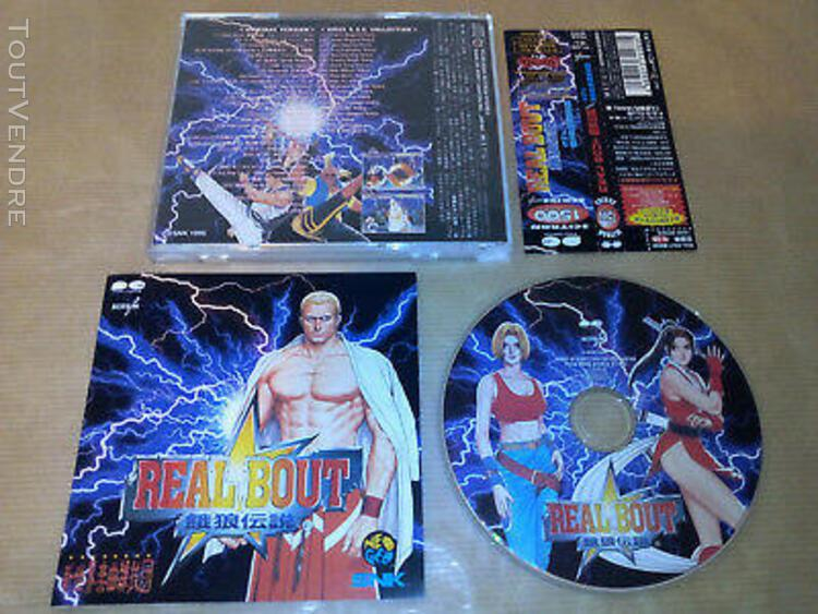 real bout fatal fury soundtrack original snk ost japan