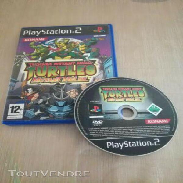teenager mutant ninja turtles mutant melee, ps1