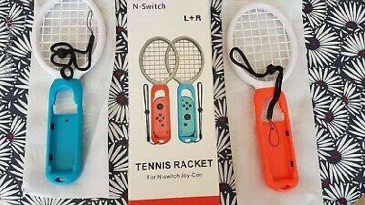 tennis racket pour joy-con nintendo switch