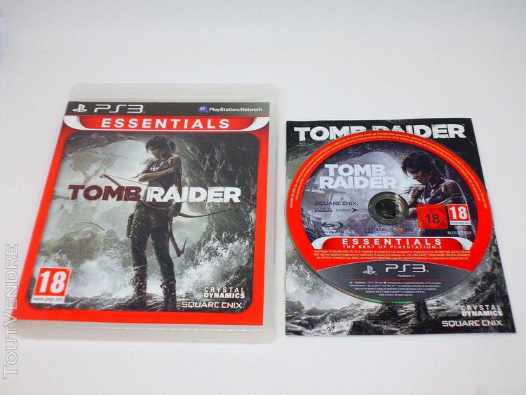tomb raider - playstation 3 ps3 - complet - version