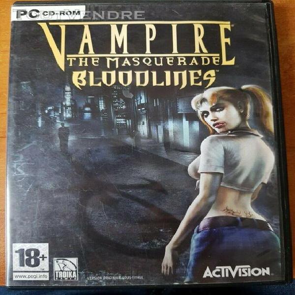 vampire bloodlines the masquerade jeu sur pc