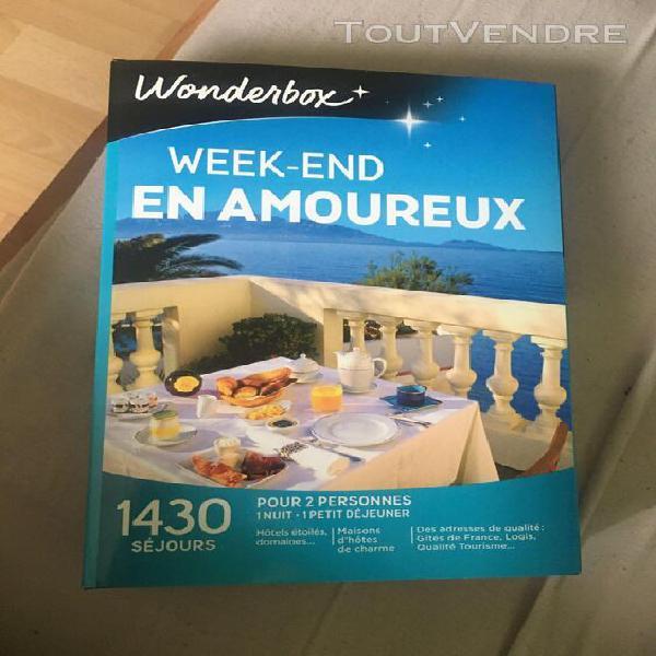 Wonderbox week end en amoureux