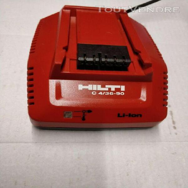 1 chargeur hilti cpc 4/90 h/s (a reparer ou pour pieces