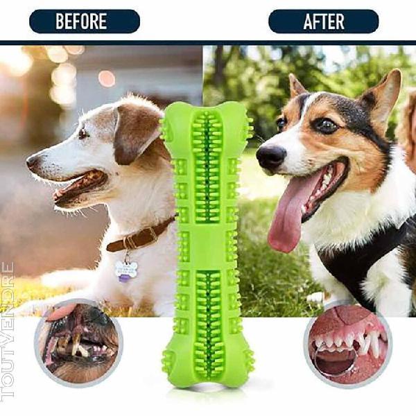 Pet chien bone forme brosse à dents doggo soins nettoyage
