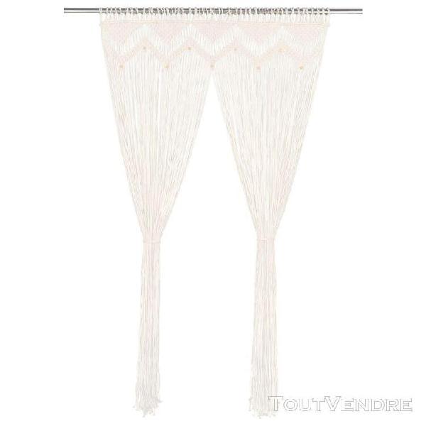 Rideau 140x240 cm coton