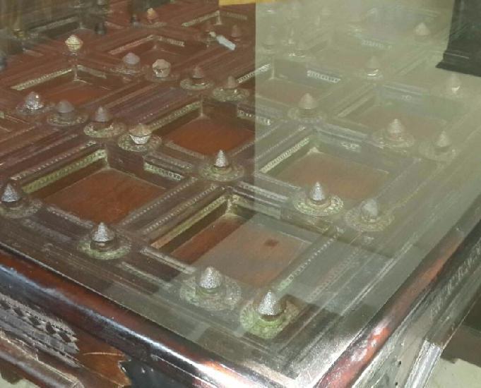 Superbe table a manger en bois massif origine nepal