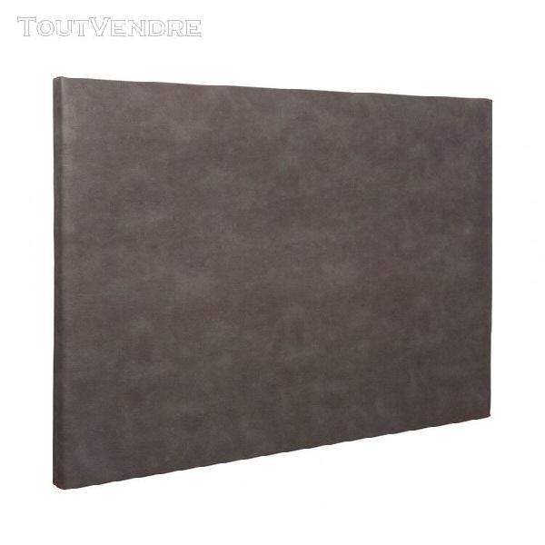 Tête de lit déco simili cuir chocolat 180 - someo