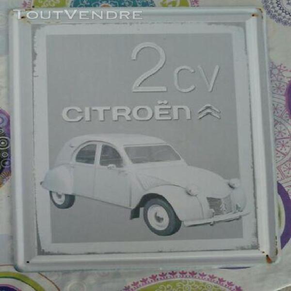 NOREV collection réédition affiche citroen 2cv 44 x 60 cm