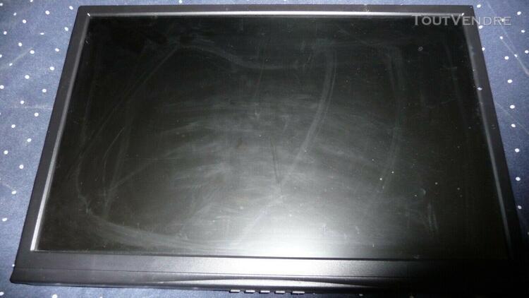 Ecran plat informatique 19pouces avec support telescopique p