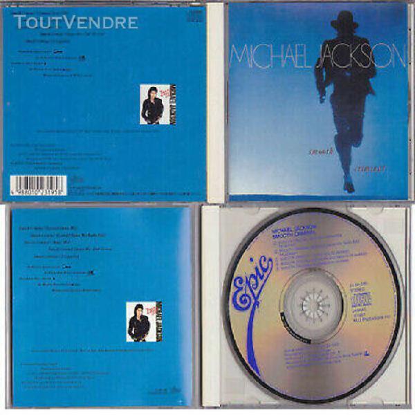 Michael jackson smooth criminal cd maxi remixes collector ed