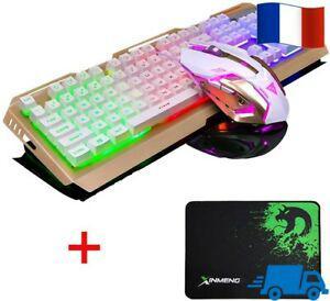 Ensemble clavier souris gaming combo filaire v1 à