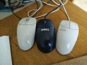 Lot de 3 souris informatique