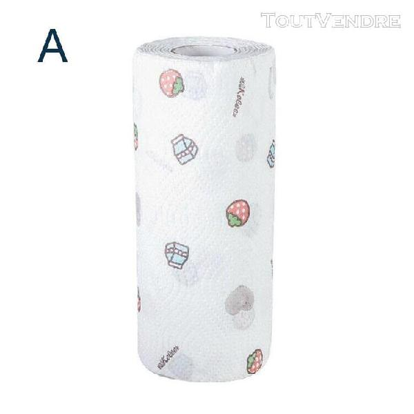 Nettoyage à usage unique en tissu cuisine papier torchon