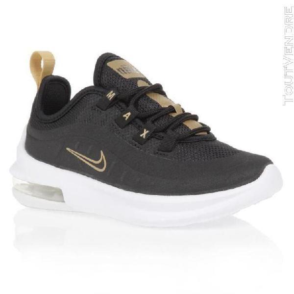 Nike baskets air max axis vtb - enfant - noir et or - 28 1-2