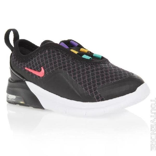 Nike baskets air max motion 2 - bebe - noir et blanc - 26