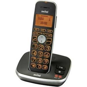 Téléphone sans fil switel d150 vita comfort fonction mains