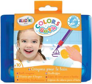 Aladine - colors bath - crayons pour le bain - feutres de