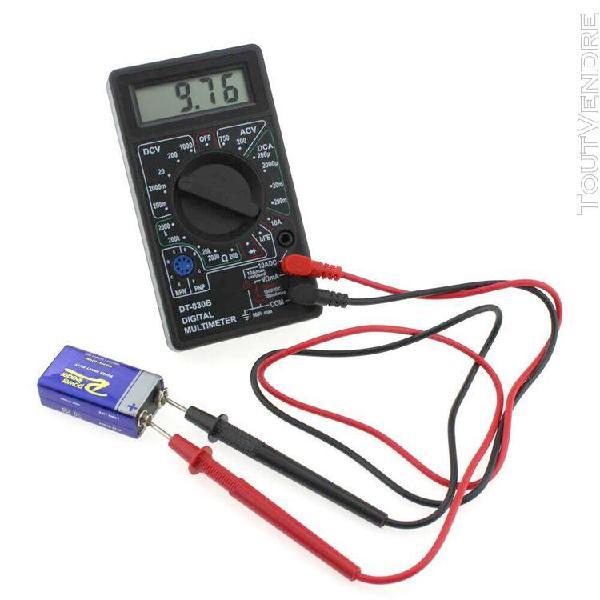 Dt830b lcd multimètre voltmètre ampèremètre ac dc