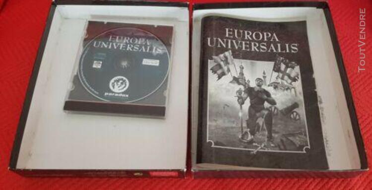 Jeu pc big box vintage europa universalis 1492-1792 paradox