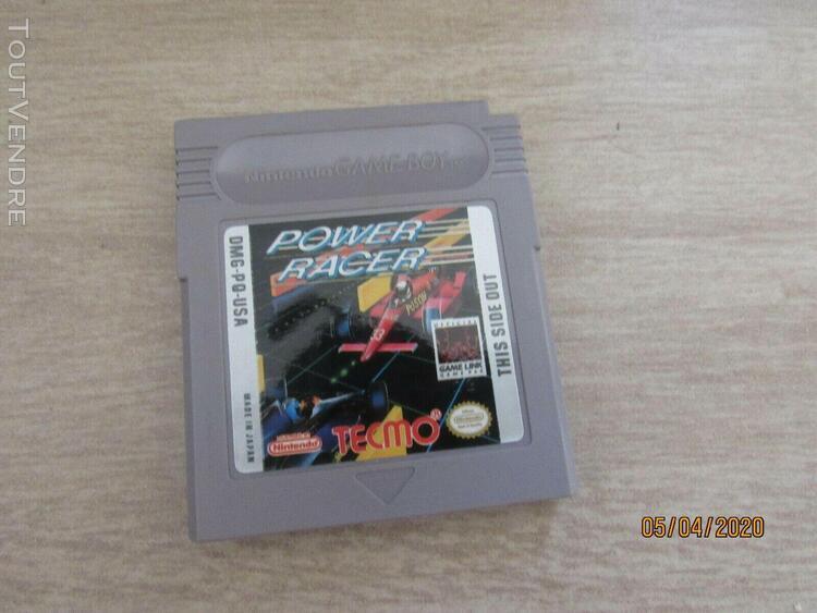 Jeux game boy power racer;;dmg-pq-usa