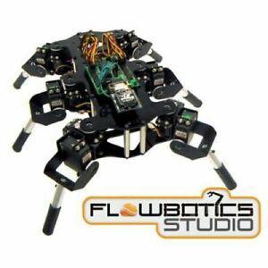 Kit hexapode mini-hex mh2f (flowbotics studio) lynxmotion