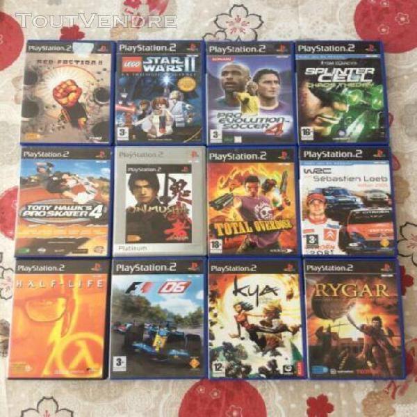 Lot jeux video ps2