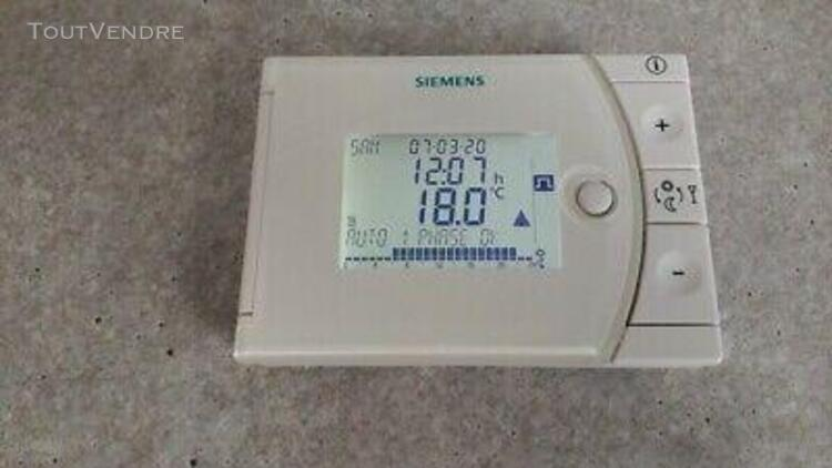 Regulateur temperature aff. digital siemens rev13 en tbe pou