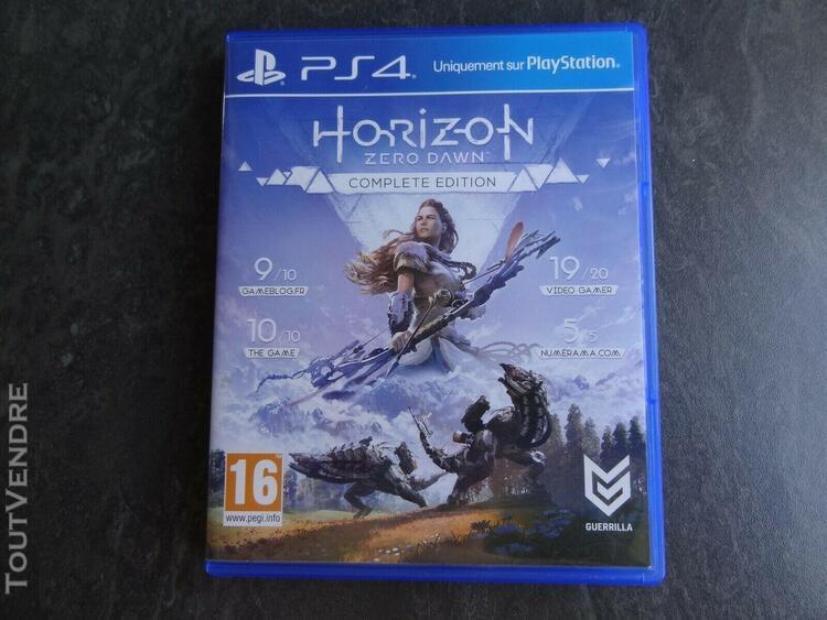 Horizon zero dawn complete edition - ps4 - fr