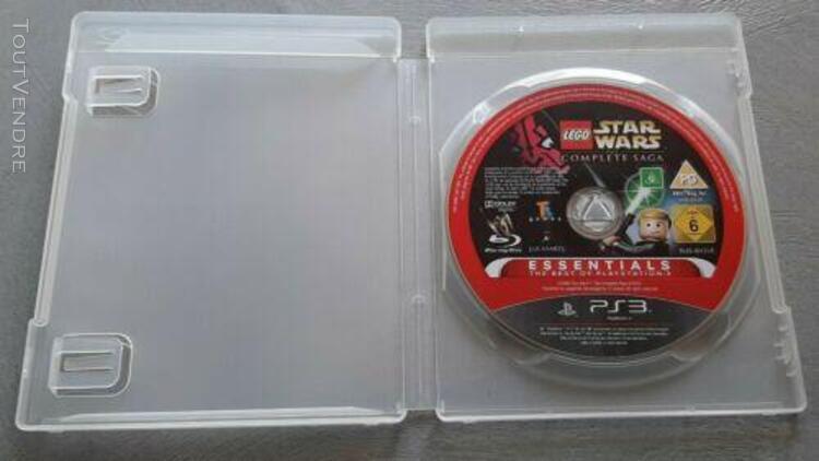 Jeu lego star wars la saga complete - essentials - sony ps3