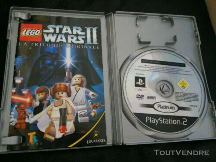 Jeu playstation 2 ps2: lego star wars ii la trilogie origin